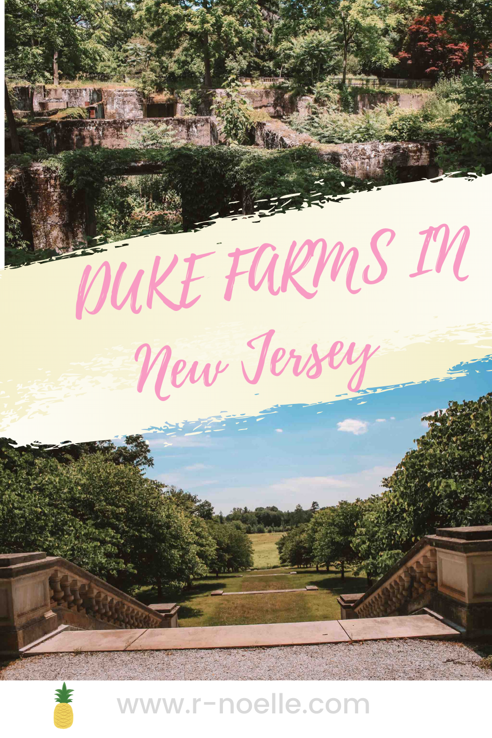Duke Farm's based in Hillsborough, New Jersey is an amazing gem in Northern New Jersey. If offers amazing grounds to walk or ride a bike. There are wonderful gardens to enjoy. There is also 18 miles works of bike riding!
