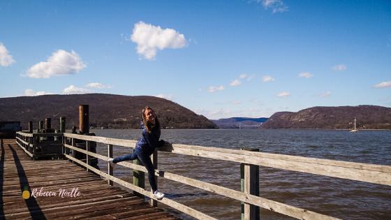 Visit Fleishchmann Pier for the best views of the Hudson Valley in Peekskill, New York.
