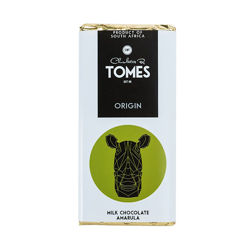 80g Tomes Safari Milk Chocolate Amarula