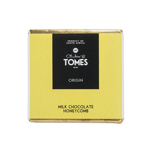 30g Tomes Origin Milk Chocolate Honeycomb