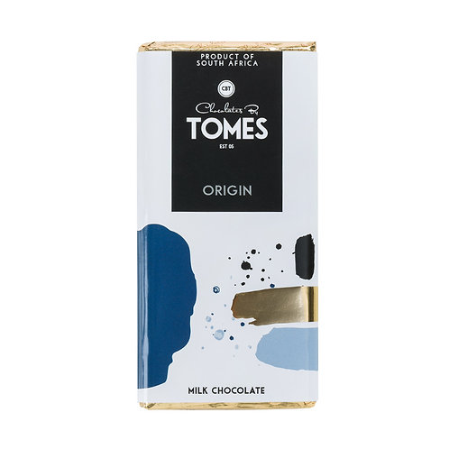 80g Tomes Origin Milk Chocolate