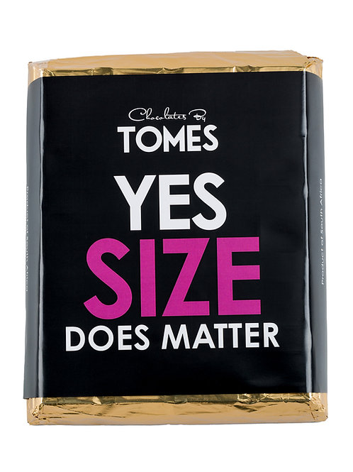"""2kg 42% Milk Chocolate """"Yes! Size does Matter"""""""