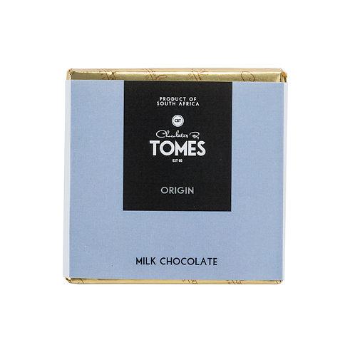 30g Tomes Origin Milk Chocolate
