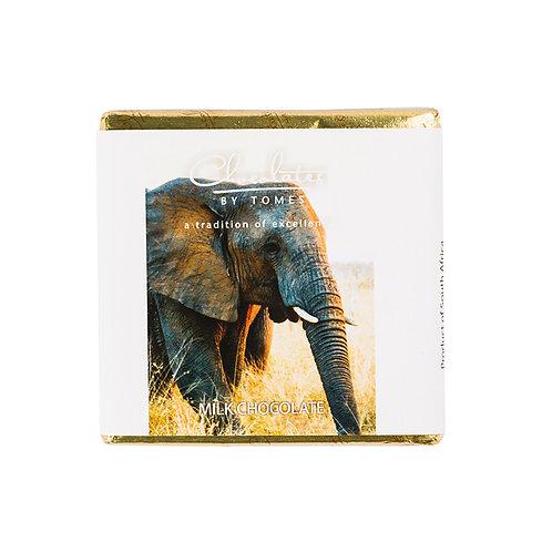 30g Tomes Safari Elephant (Milk Chocolate)