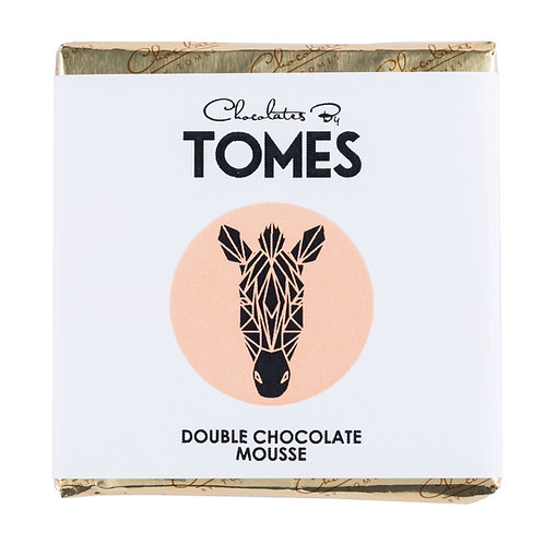 30g Tomes Safari Zebra (Double Chocolate Mousse)