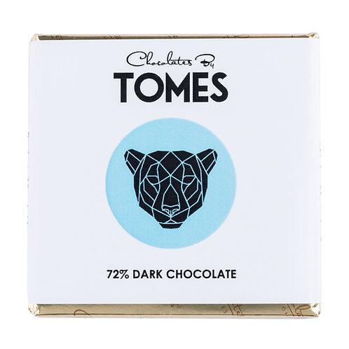 30g Tomes Safari Leopard (72% Dark Chocolate)