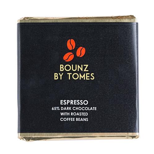 30g Bounz 60% Dark Chocolate Espresso