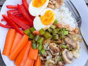 Gado Gado (Vegetarian Satay)