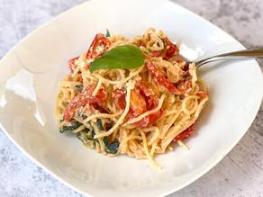 Tomato, Capsicum & Feta Pasta