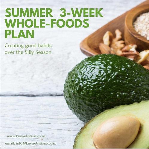 3-Week Wholefoods Meal Plan