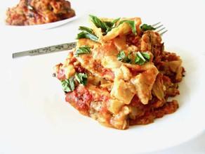 Slow Cooker Veggie Lasagne