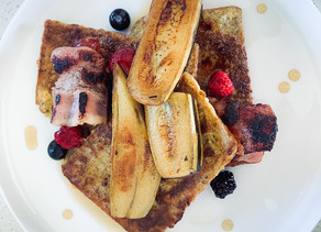 Super Easy 2 Ingredient French Toast