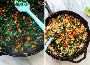 Spicy Kale and Coconut Fried Rice