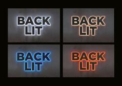 Channelletter Back Lit