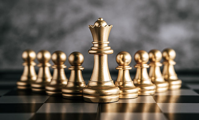 gold-chess-chess-board-game-business-met