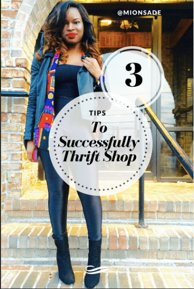 3 Tips To Successfully Thrift Shop