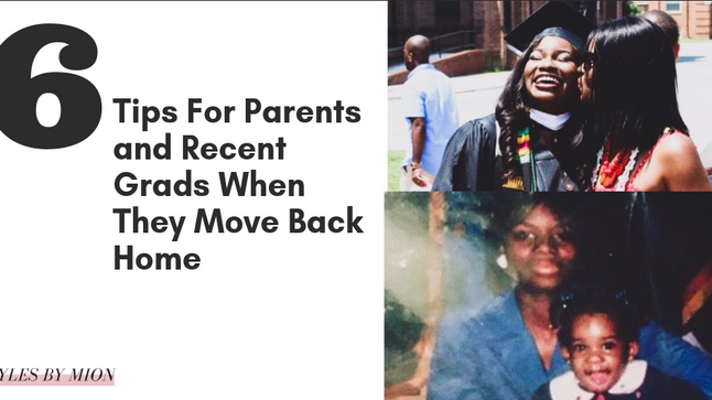 6 Tips for Parents and Recent Grads When They Move Back Home