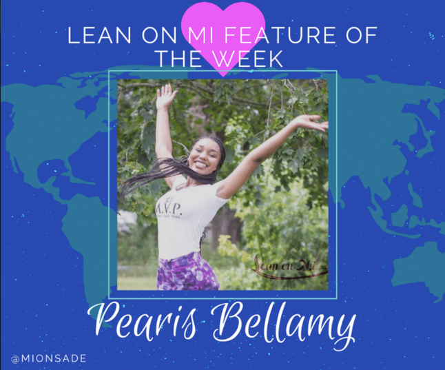 Lean On Mi Feature of The Week: Pearis Bellamy