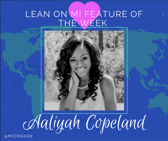 Lean on Mi Feature of the Week: Aaliyah Copeland