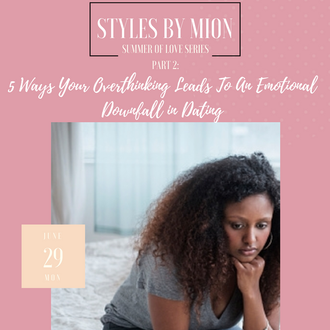 5 Ways Your Overthinking Leads To An Emotional Downfall in Dating