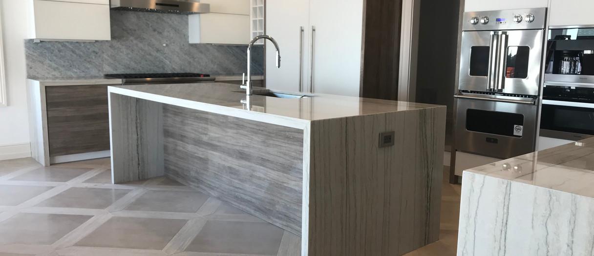 Modern Quartzite Kitchen Countertops, Passaic, NJ, Njcountertops.com