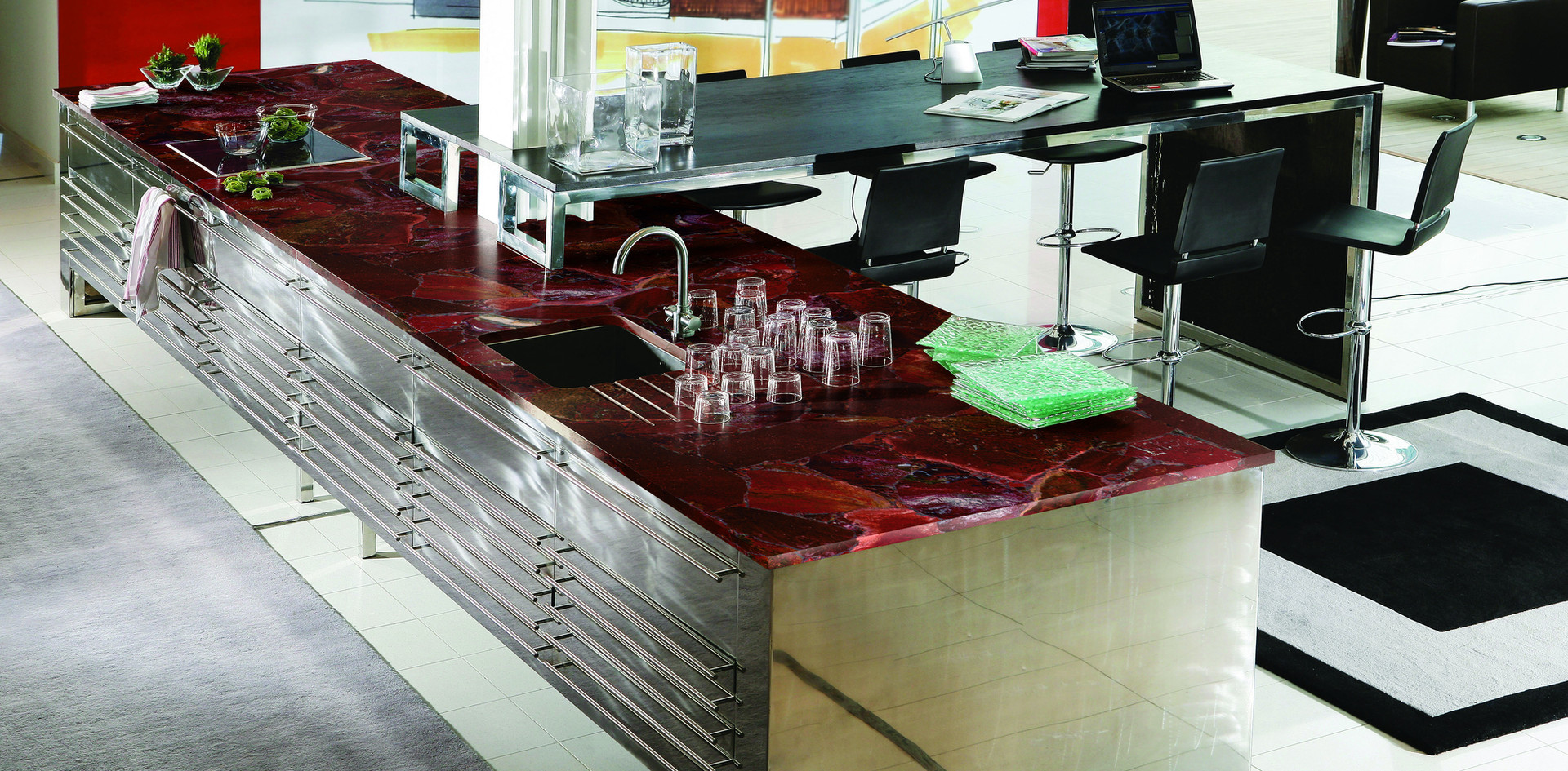 Modern Quartzite Kitchen Countertops, Quartz, Njcountertops.com