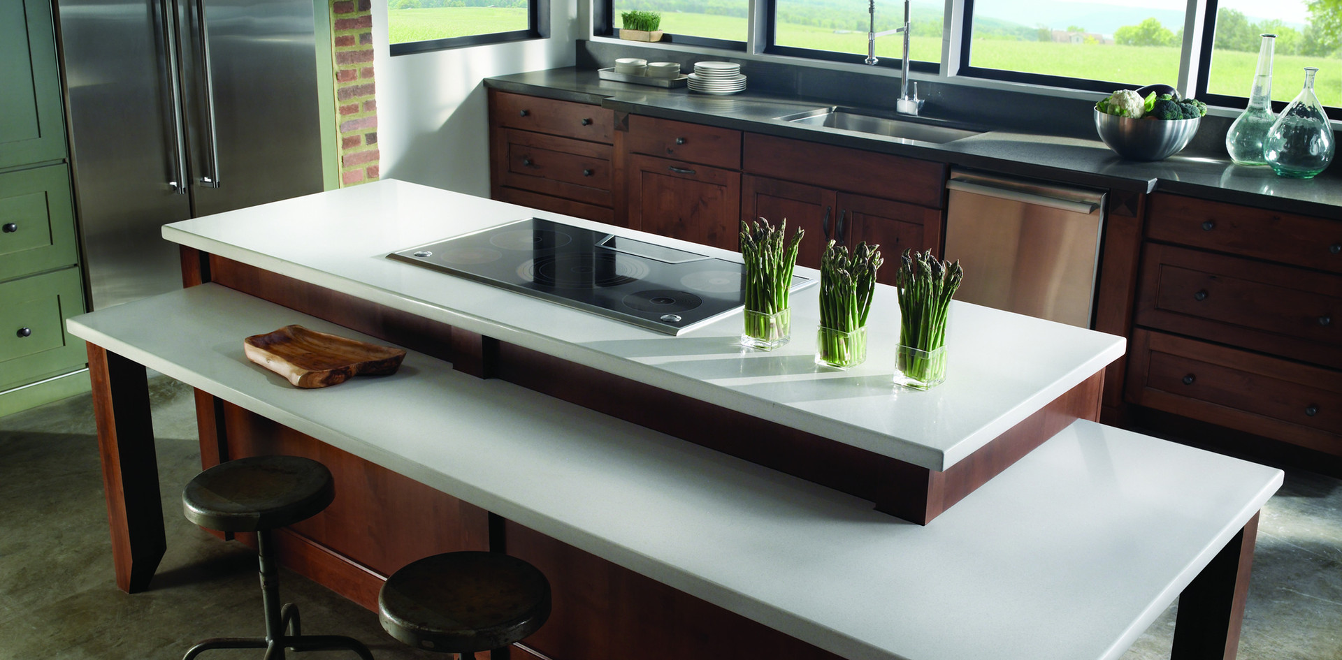 Modern Quartzite Kitchen Countertops, We specialize in the fabrication & installation of Marble, Granite, Silestone, Ceaserstone, Han stone, Zodiaq, Cambria, Quartz Master and Ice Stone. Njcountertops.com