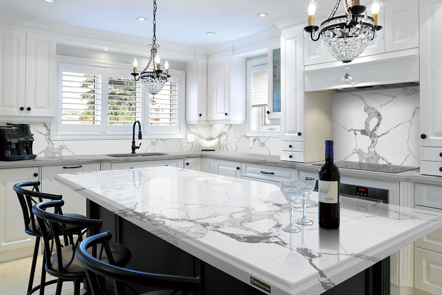 Modern Quartzite Kitchen Countertops
