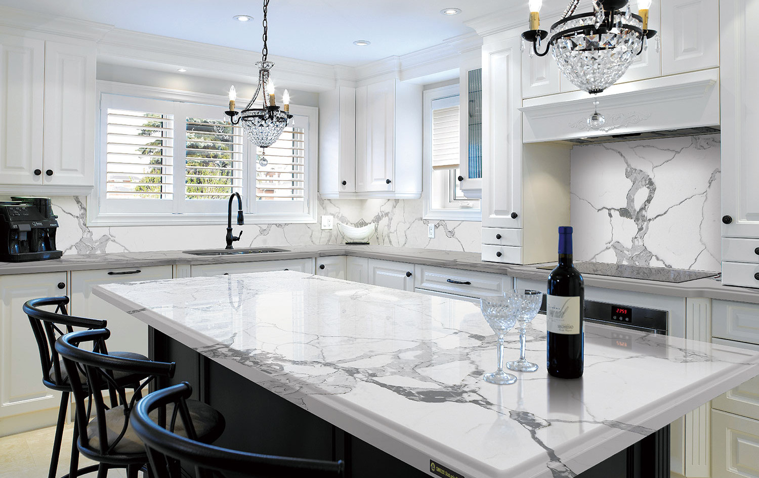 Modern Quartzite Kitchen Countertops, Mahwah, NJ, Njcountertops.com