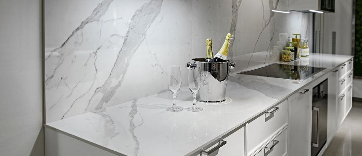 Modern Quartzite Kitchen Countertops, Little Falls, NJ, Njcountertops.com