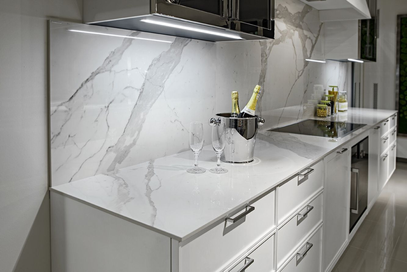 Modern Quartzite Kitchen Countertops, Little Falls, NJ, Njcountertops.com