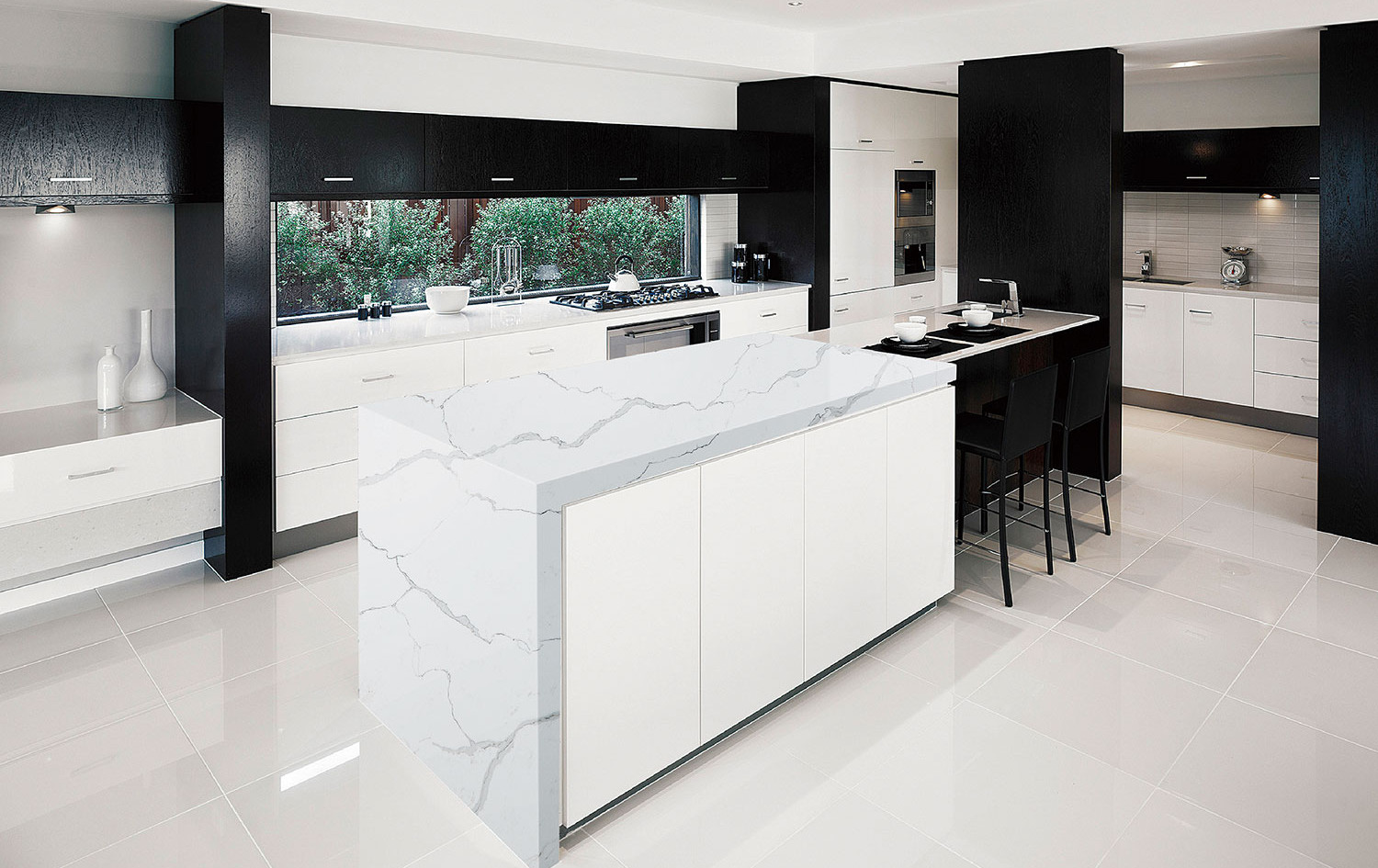 Modern Quartzite Kitchen Countertops, Ridgewood, NJ, Njcountertops.com