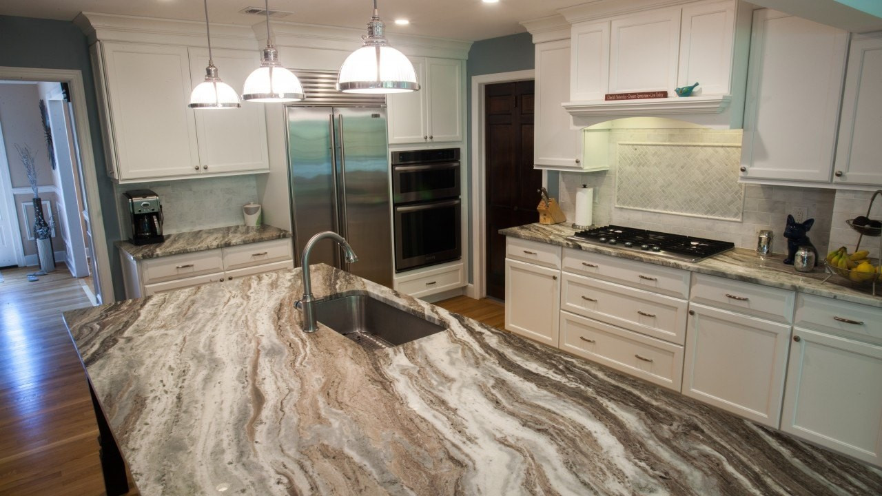 Modern Quartzite Kitchen Countertops, Hawthorne, NJ, Njcountertops.com