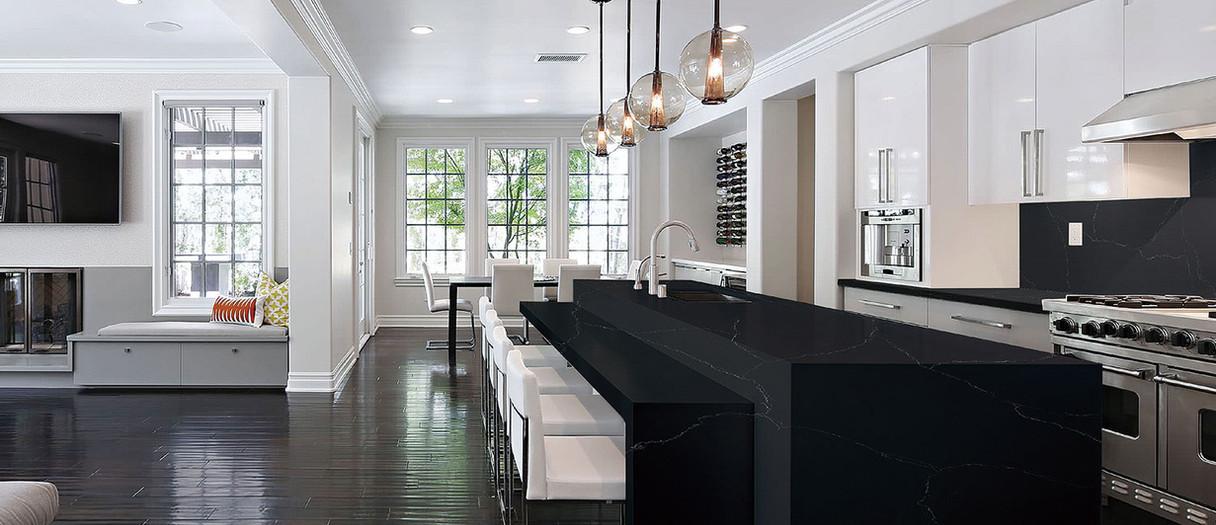 Modern Quartzite Kitchen Countertops, Hackensack, NJ, Njcountertops.com