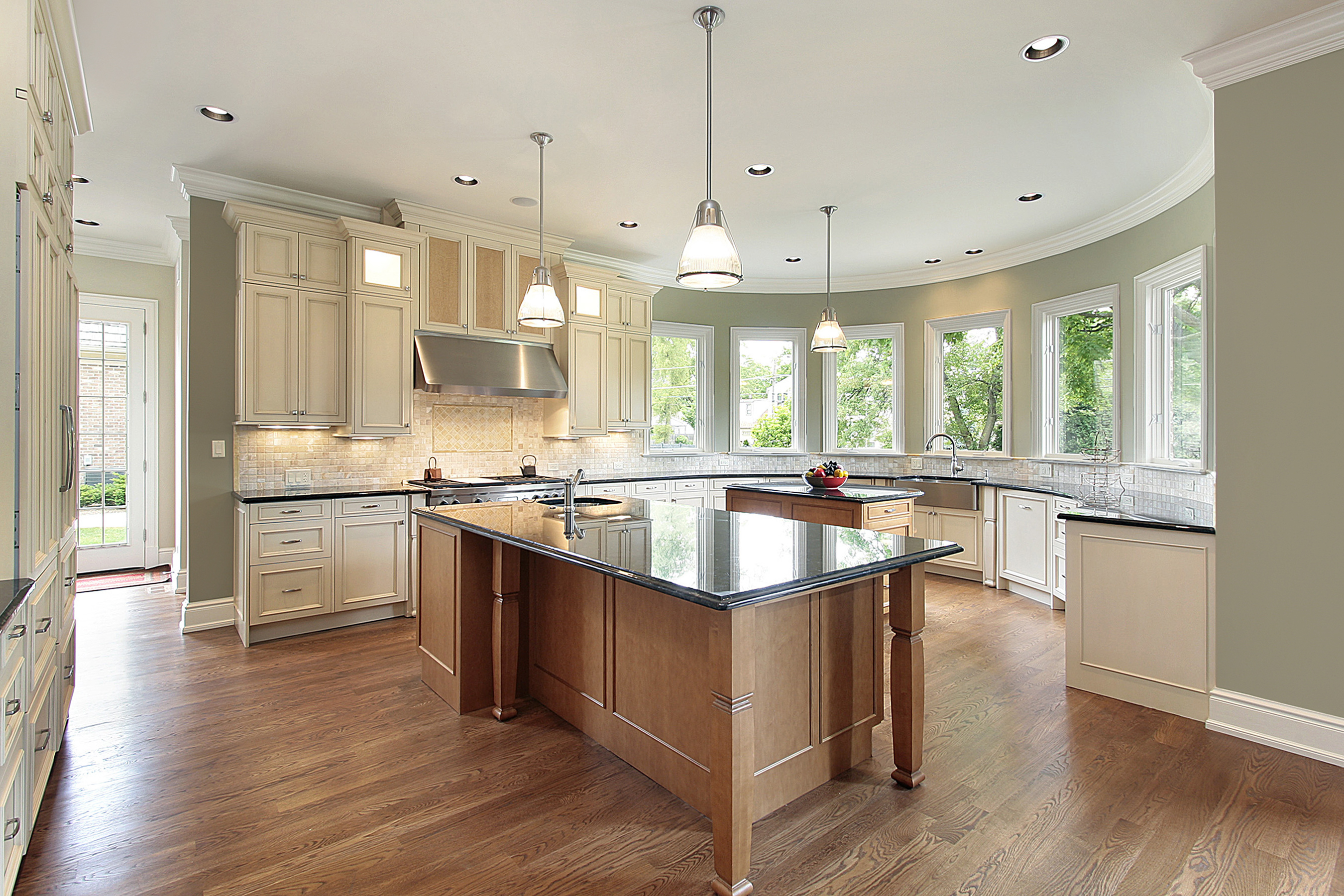 bigstock-Kitchen-With-Curved-Walls-6361491