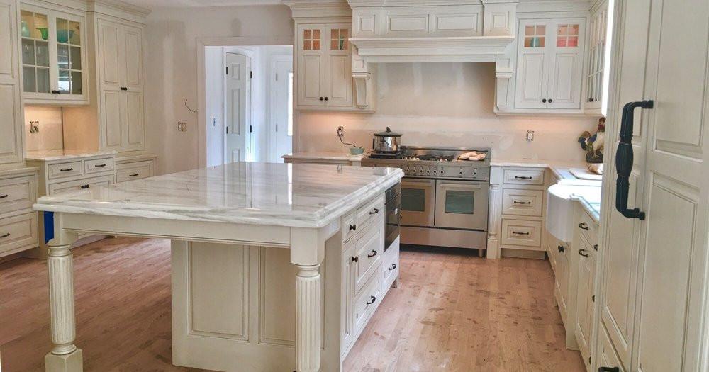 Modern Quartzite Kitchen Countertops, Oradell, NJ, Njcountertops.com