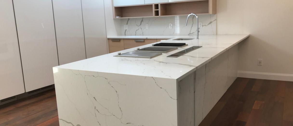 Modern Quartzite Kitchen Countertops, Wayne, NJ, Njcountertops.com