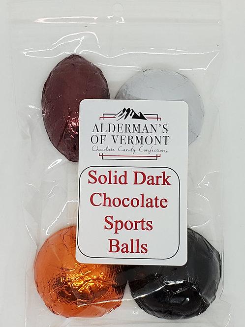 Milk or Dark Chocolate Sports Balls