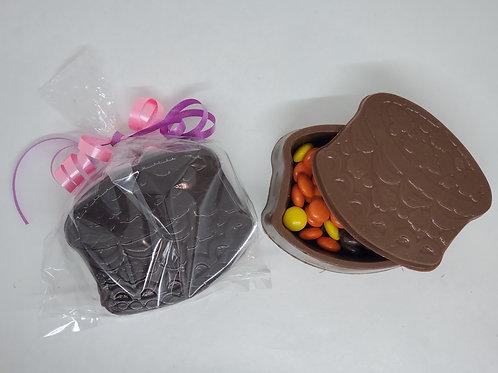 Milk or Dark Reeses Pieces or M&M Filled Birthday Cake Box