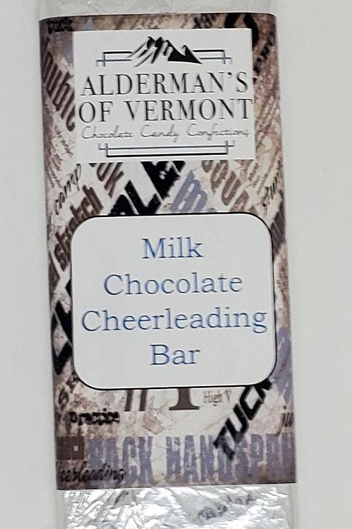 Milk or Dark Cheerleading Bar