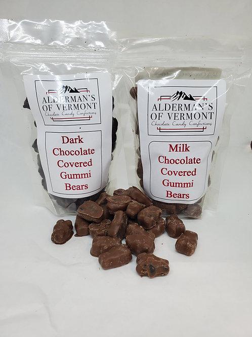 Milk or Dark Chocolate Gummi Bears