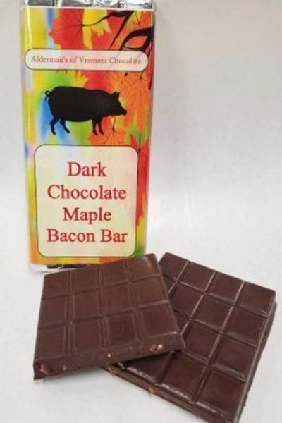 Dark Chocolate Maple Bacon Bar 4oz