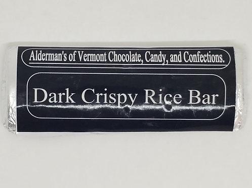 Dark Chocolate with Crispy Rice Bar