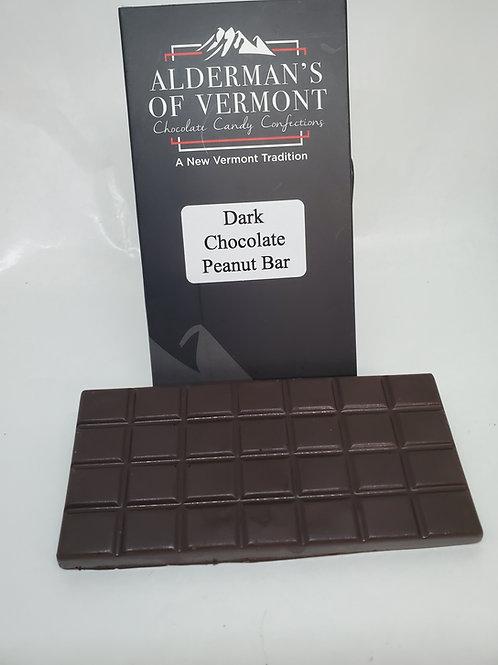 Dark Chocolate Bar with Peanuts