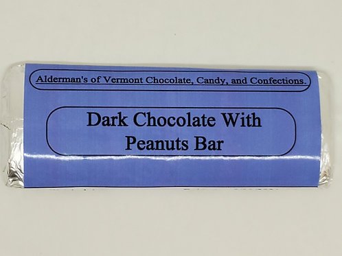 Dark Chocolate Peanut Bar small 1.4 oz