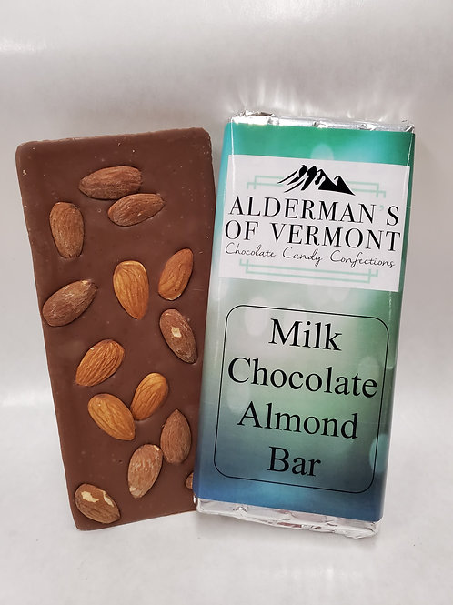 Milk Chocolate Almond Bar 4 oz