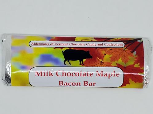 Milk Chocolate Maple Bacon Bar Small 1.4 oz