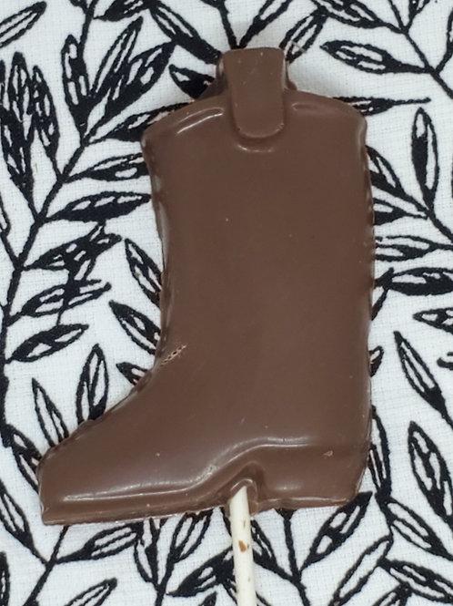 Milk or Dark Chocolate Cowboy Cowgirl Boots