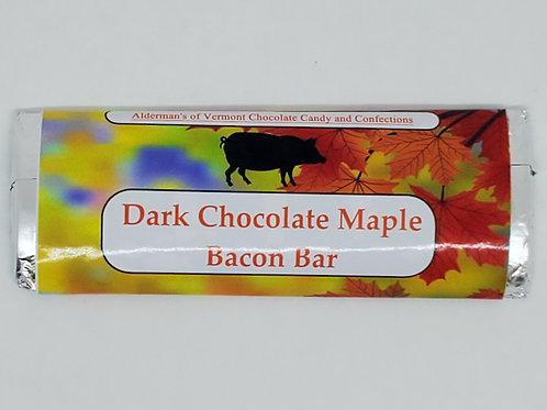 Dark Chocolate Maple and Bacon Bar