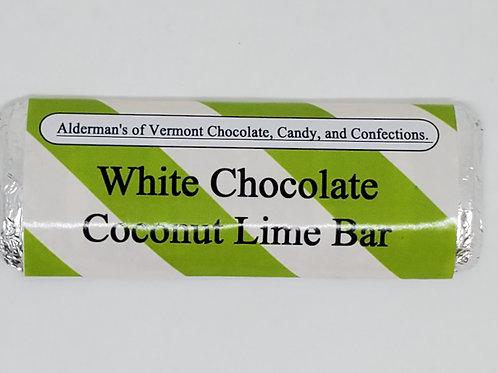White Chocolate Coconut Lime Bar